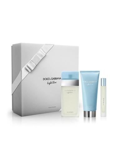 Light Blue Edt 100 Ml +100 Ml Body Lotion + Edt 7,4 Ml Kadın Parfüm Seti-Dolce&Gabbana